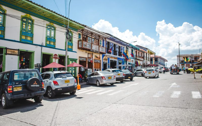 Parking in Filandia Colombia: driving Salento or Filandia, Quindio do you need a car hire