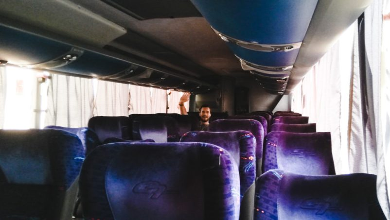 comfortable and safe on night buses in south america