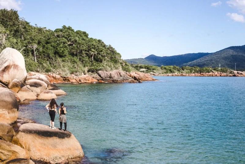 Piscinas Natureis natural pools at Barra da Lagoa Florianopolis travel guide floripa brazil