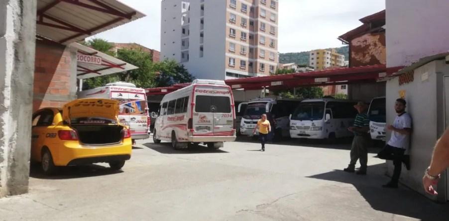Bus terminalito San Gil Colombia Santander bus routes from Bogota Cartagena Santa Marta