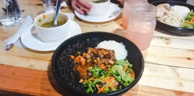 Restaurante Ledbury Porciuncula Colombia menu del dia restaurant