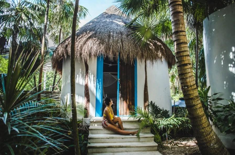 Where to stay in Tulum zona hotelera Tulum hotel zone Cormoran cenote boutique