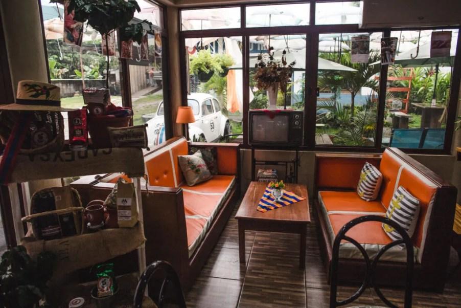 Barista Coffee shop Best cafés Peña Blanca Honduras Lago de Yojoa