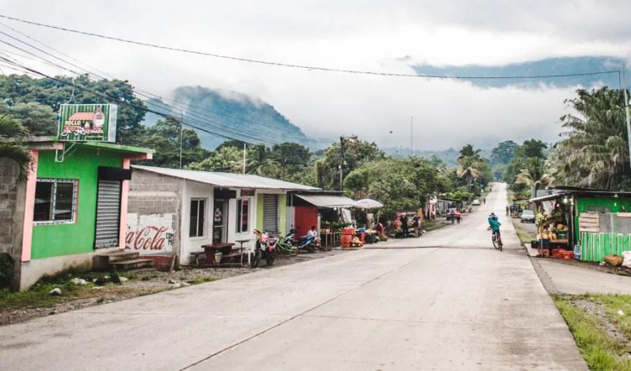 Pulhapanzak Waterfall peaceful Los Naranjos town on Lake Yojoa Honduras Lago de Yojoa D&D brewery