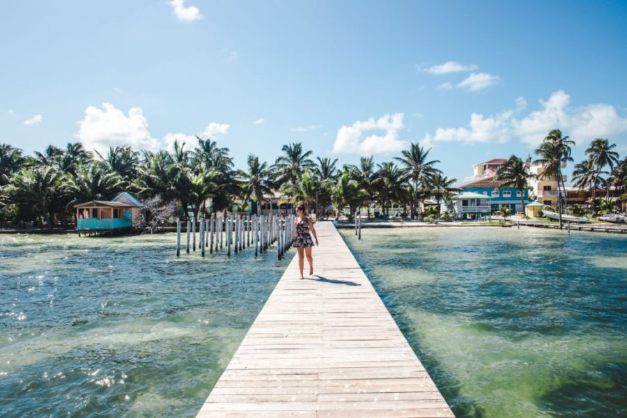 Caye Caulker Belize | top destinations in Latin America to spend christmas money 2020 good value for money travel