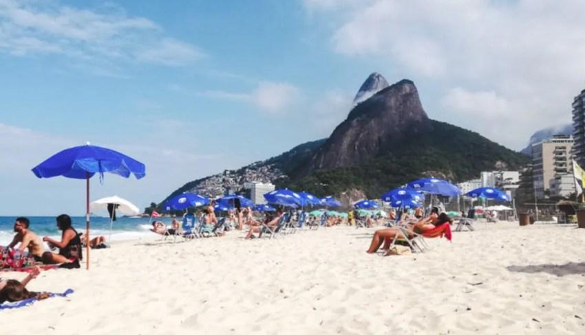 Leblon beach Brazil Rio