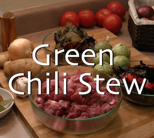 Authentic Green Chili Stew with Roast Pork 4