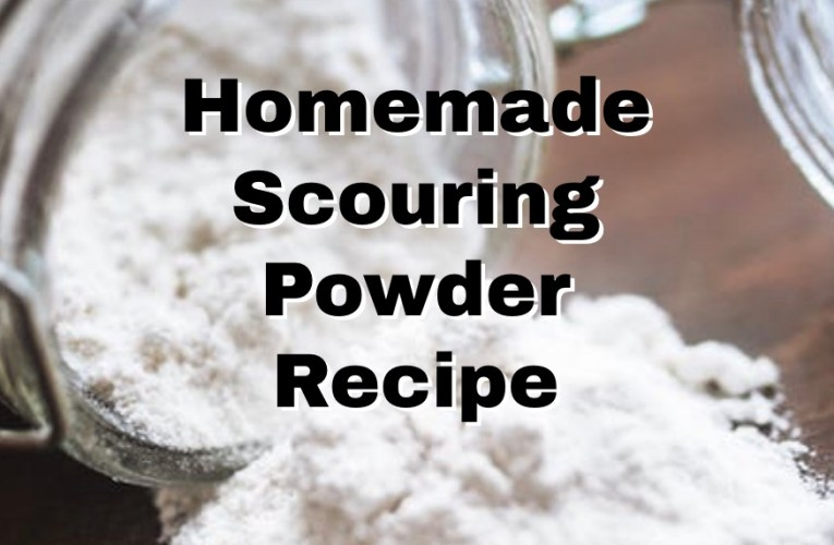 Homemade Scouring Powder for Pennies