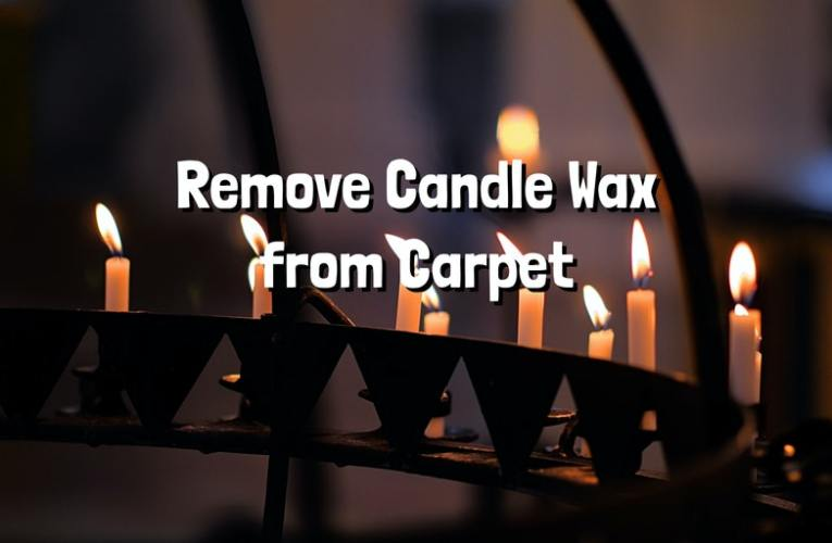 Remove Candle Wax from Carpet