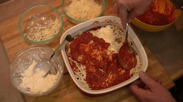 spreading sauce