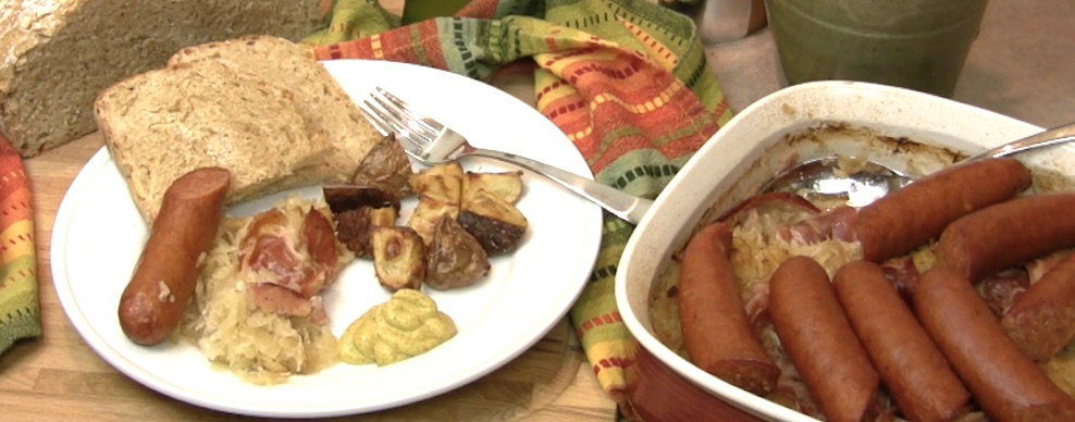 sausage and kraut