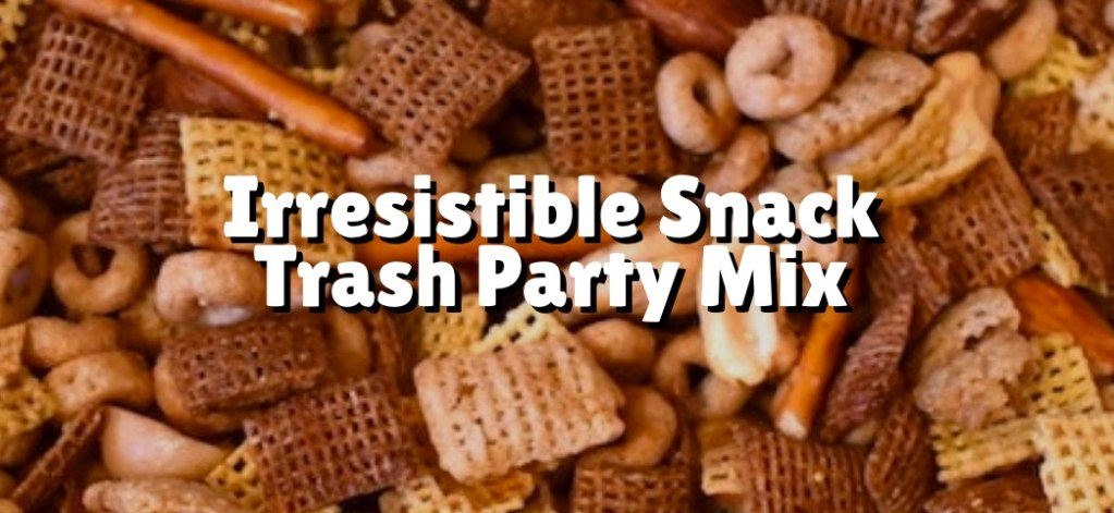 snack trash party mix photo