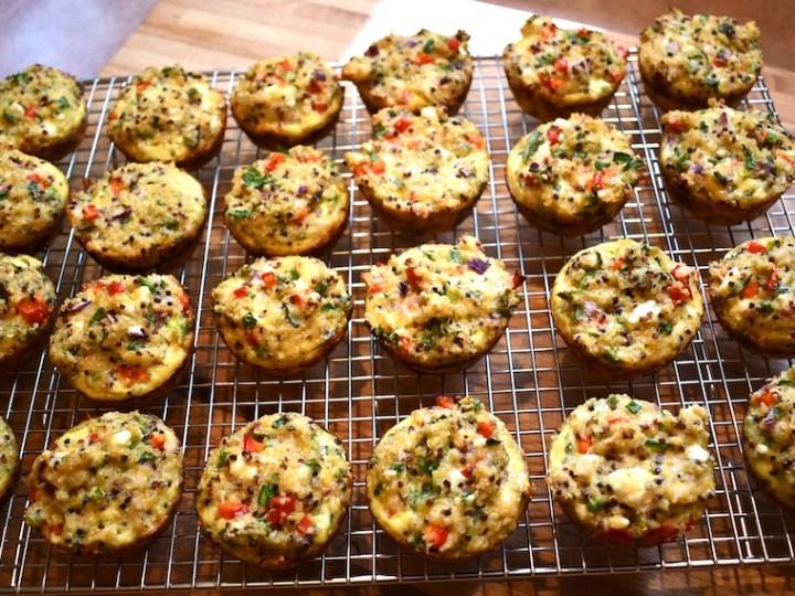 Savory Quinoa Muffins 3