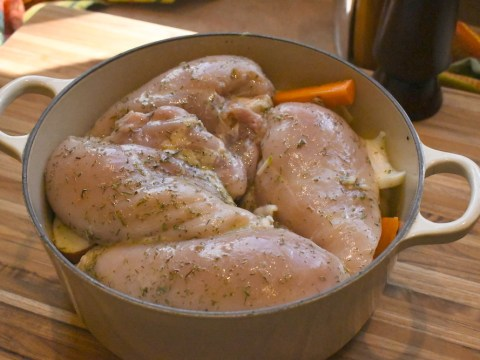 Pot Roast Chicken 6