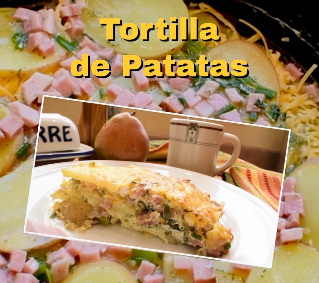 Tortilla de Patatas - Spanish Potato Frittata 1