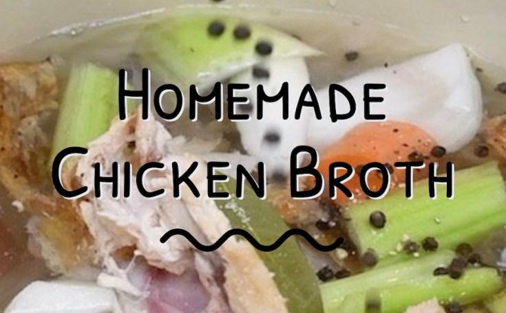 chicken broth splash
