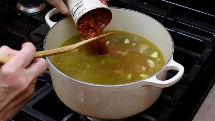 Caldo de Pollo con Lime or Mexican Chicken Soup 3