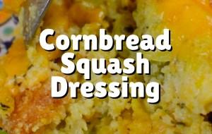 Cornbread Squash Dressing 1