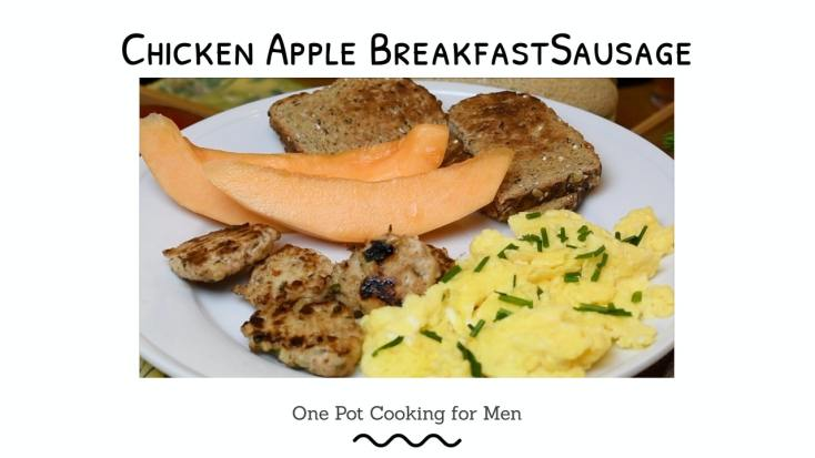Chicken and Apple Breakfast Sausage 1