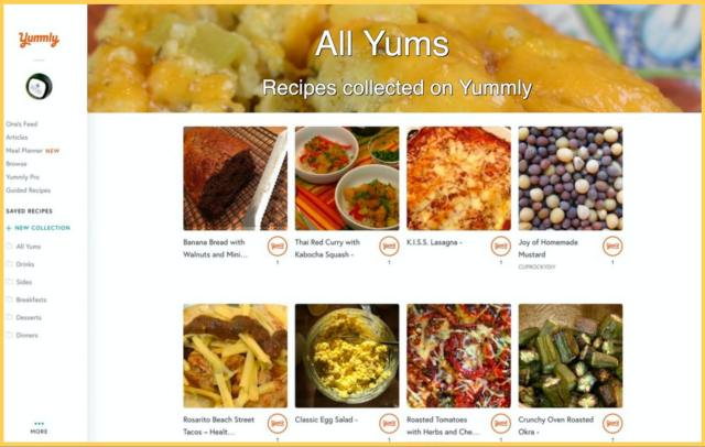 yummly all yums promo page