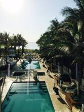 Pool at grand beach hotel surfside