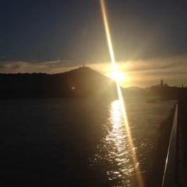 Sunset Gellert Budapest