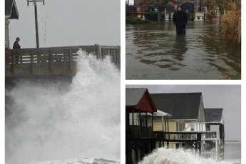 Hurricane Sandy Collage