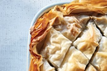 Spanakopita image courtesy of Vegetarian Times!