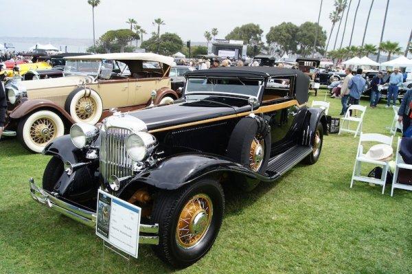 La Jolla Concours d'Elegance, San Diego, classic cars, antique automobiles, beach, san diego lifestyles