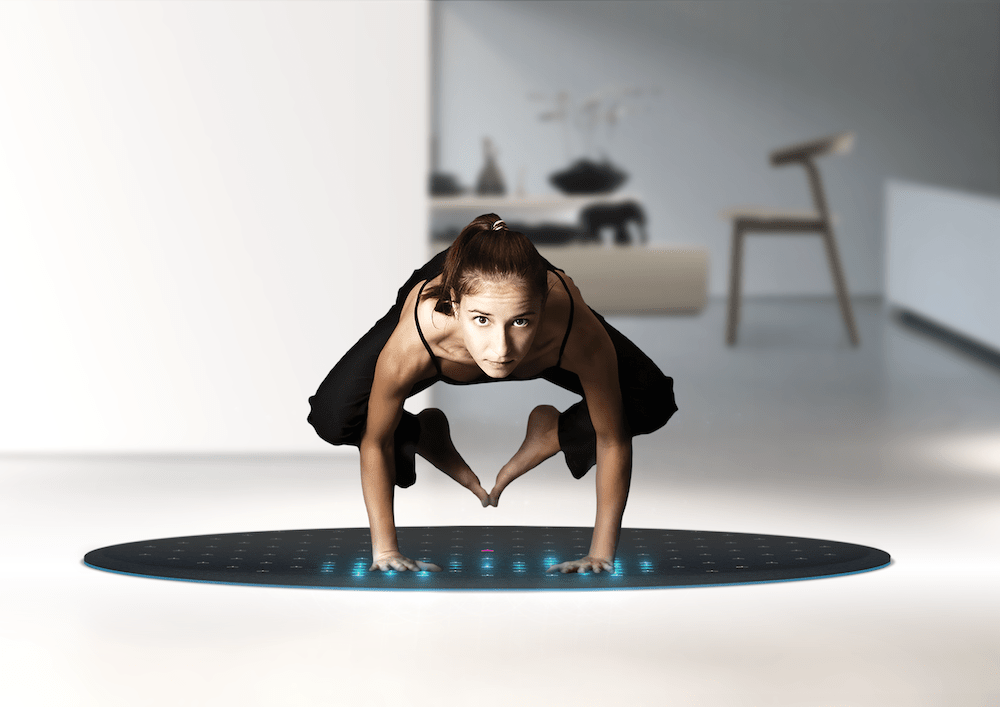 Yoga, exercise, fitness, tech, innovation