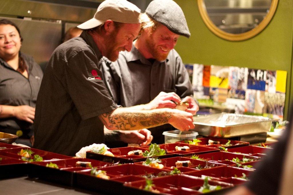Chef Davin Waite of Wrench & Rodent, Oceanside California