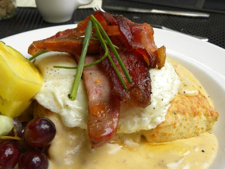 Breakfast Biscuits 'n' Gravy Bacon urban solace