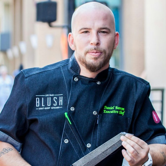 CHEF DANIEL BARRON - BLUSH ICE BAR - SAN DIEGO