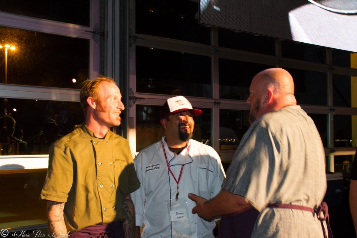 Chef Davin Waite, Chef Hanis Cavin, San Diego Dining