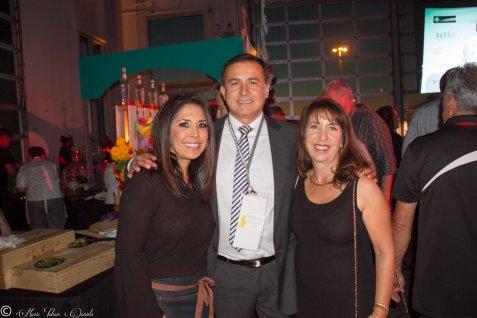 Honorary Chair Flor Franco, Nick Franco & Restaurateur Trish Watlington