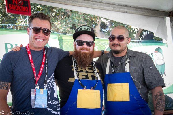 like Chef jason McLeod & Brian Malarkey, SDBWF, San Diego Chefs