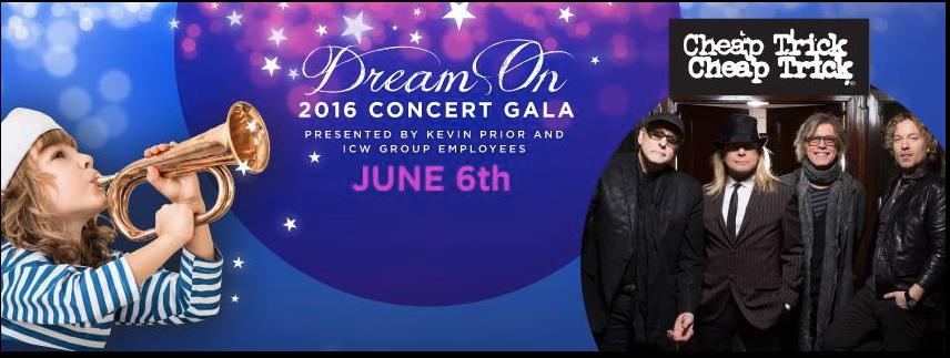 Cheap Trick, Promises2Kids, Dream On Gala, La Jolla, San Diego, Charity Event