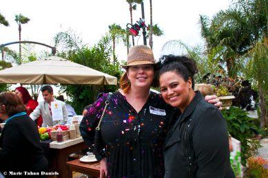 Jessica Cline & Friend