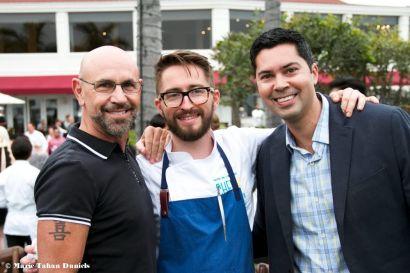 Mark Dibella, Chef Alex Emery, Frans Van Der Lee