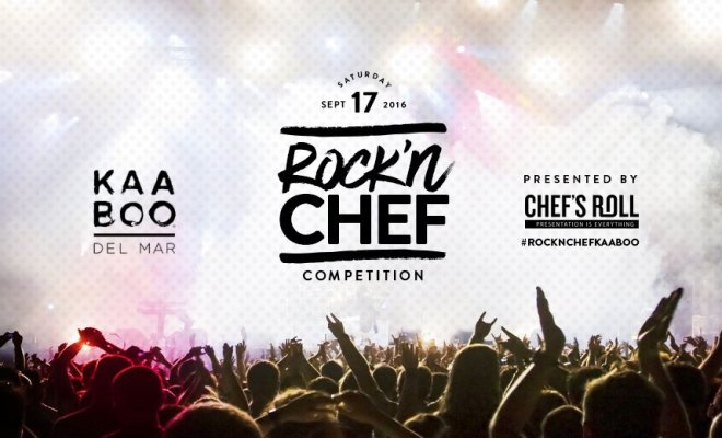 Kaaboo, Del Mar, Rockn Chef, competition, Winner, World Food Championship
