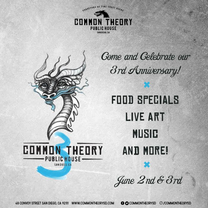 Common Theory 3rd Anniversary