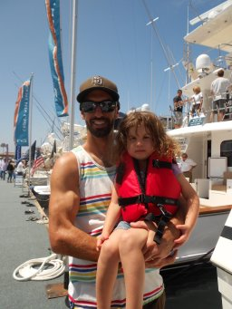 San Diego International Boat Show, super yacht, boating, sailing, San Diego Bay,