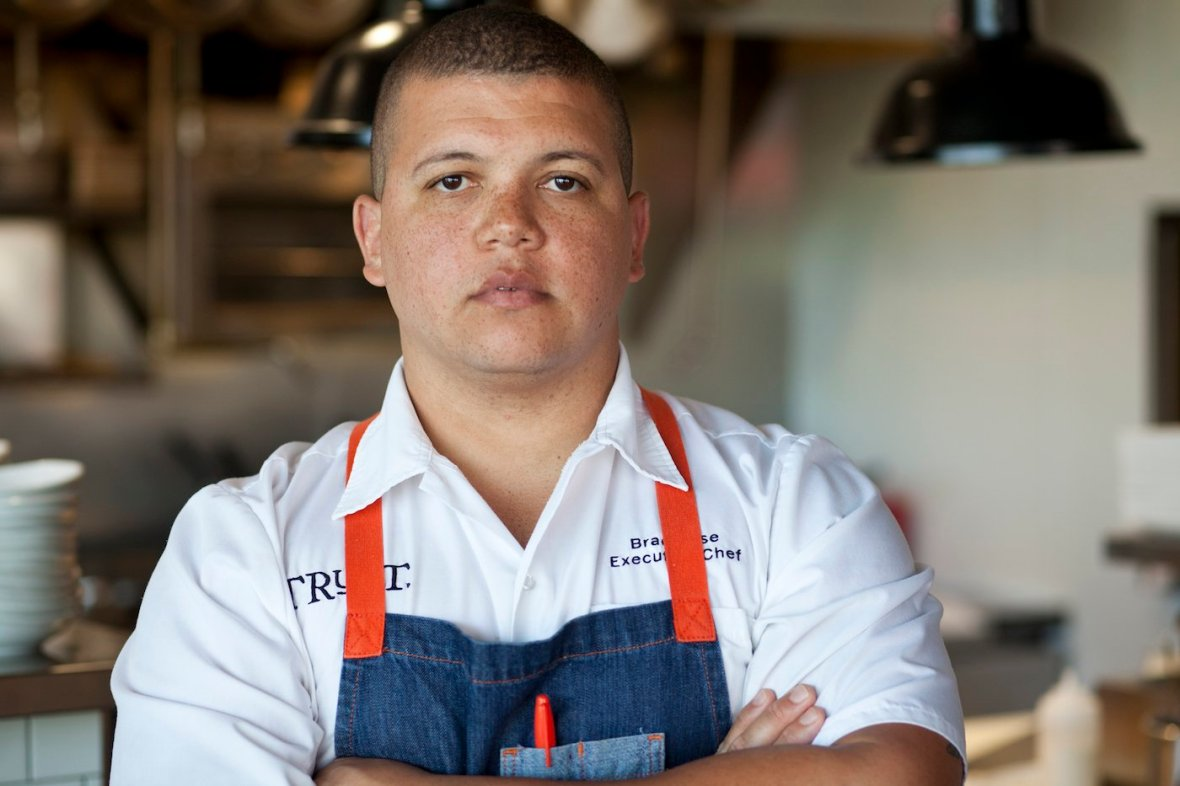 san diego chef, brad wise, TRUST restaurant, san diego dining