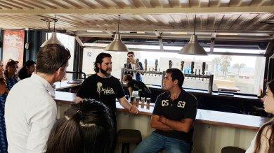 Agua Mala Brewery, Ensenada, Baja, Cur8eur Tour