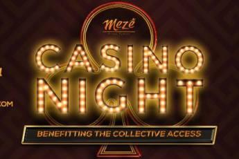 Casino Night at Meze Greek Fusion, Gaslamp Quarter, San Diego