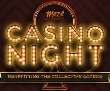 Casino Night at Meze Greek Fusion, Gaslamp Quarter, San Diego