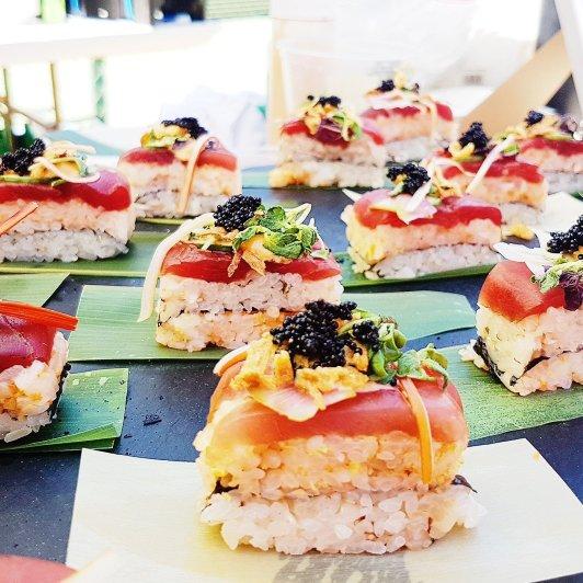 Chirashi Stack, Azuki Sushi
