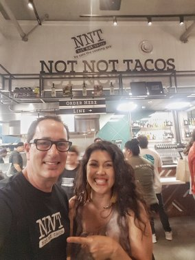 Sam, the cooking guy, opens Not Not tacos at the Little Italy Food Hall