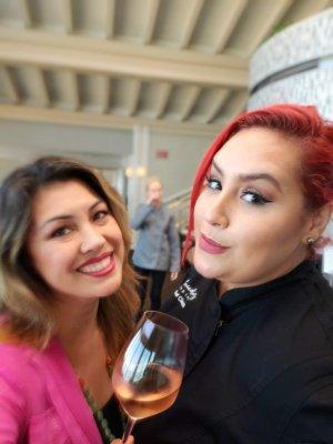 Cur8eur's Marie Daniels & Chef Claudia Sandoval