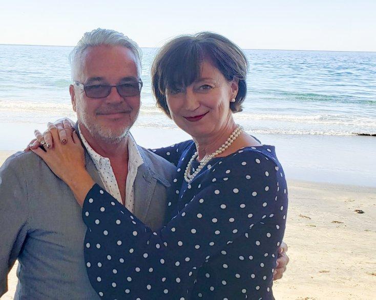 Chief Event Extraordinaire & wife, Chef Andrew Spurgin & Heidi Spurgin